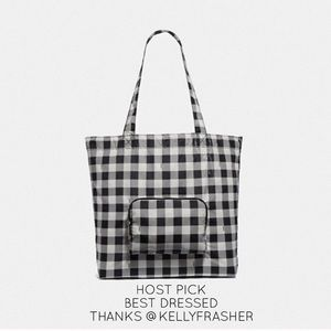 🎉 HP 🎉🆕 Coach Gingham Reusable Tote Ltd Edition